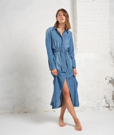 Robe Stella - Bleu