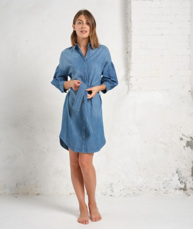 Robe Stefania - Bleu