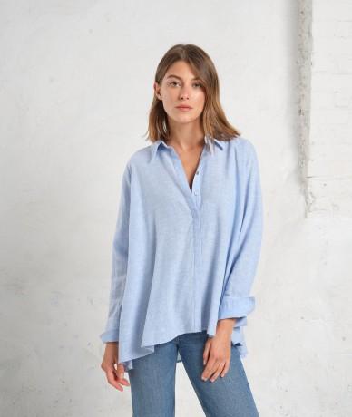 Chemise Adriana - Bleu