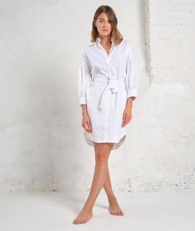 Robe Lara - Blanc optique