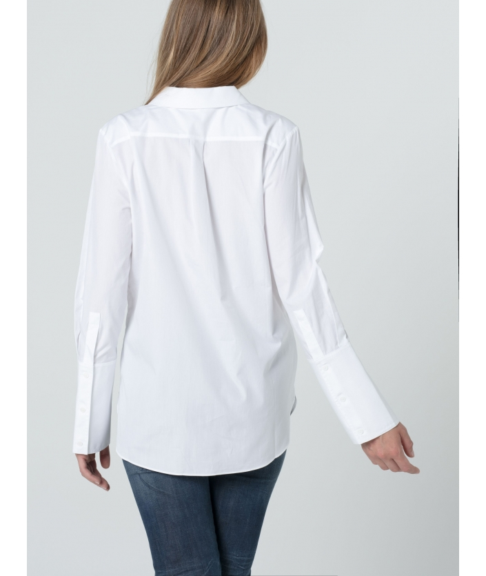 Chemise Ema à manche et poignets longs