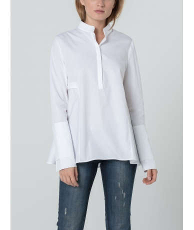 Chemise pour femme en popeline de coton