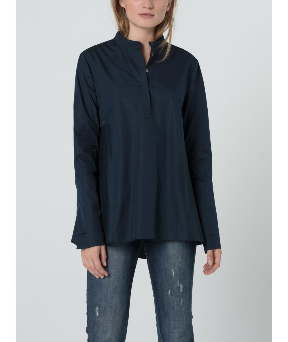 Chemise bleue pour femme