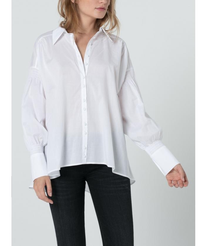 Chemise en voile de coton pour femme