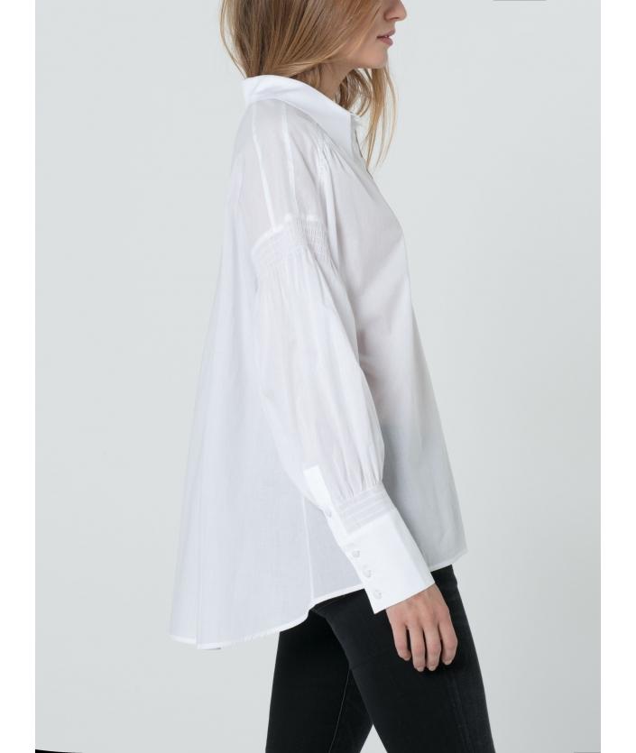 Chemise blanche élégante Issei