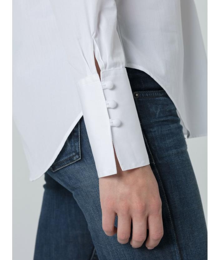 Blouse en coton pour femme