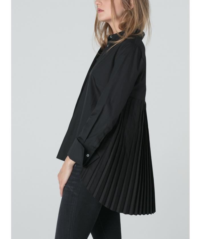Chemise Shota noir pour femme