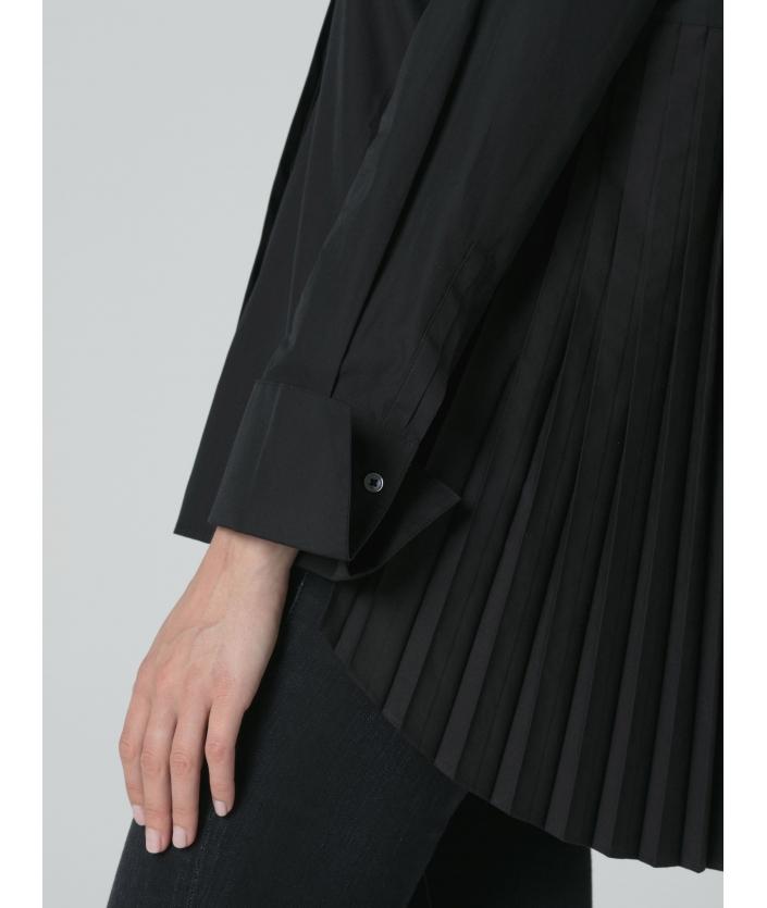 Chemise noir pour femme