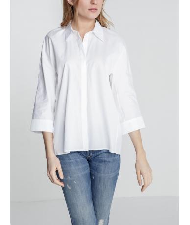 Chemise femme blanche de créateur