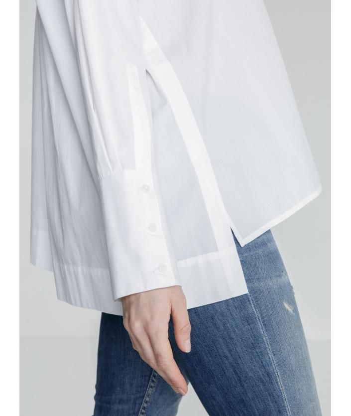 Chemise blanche droite de luxe