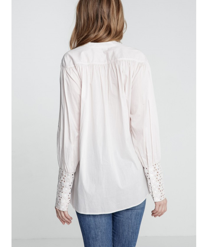Blouse Isae - Nude