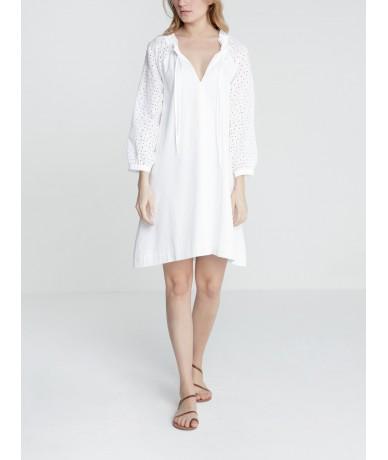 Robe Iku - BLANC