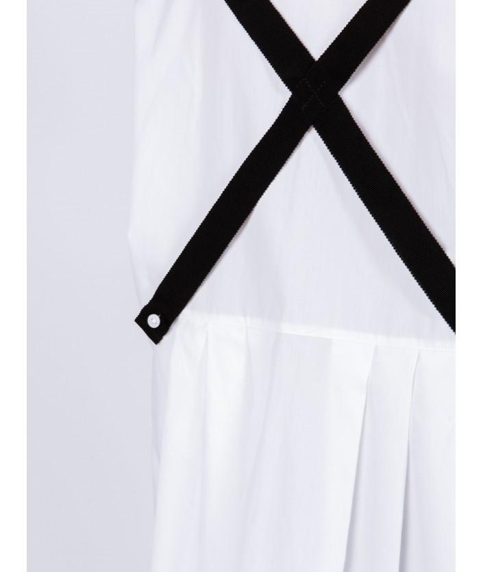 Chemise femme avec bretelles amovibles