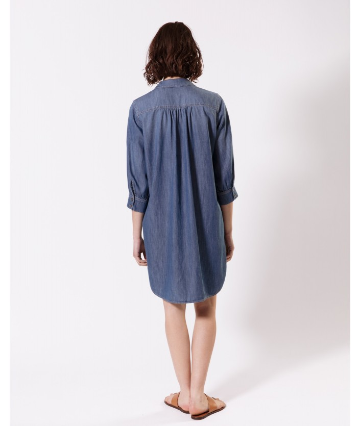 Robe Saburo - Bleu