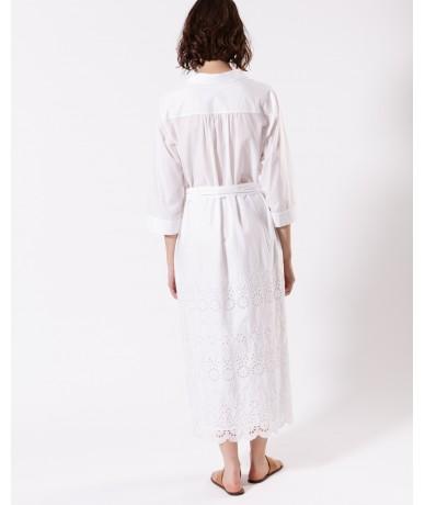 Robe Erisa - Blanc optique
