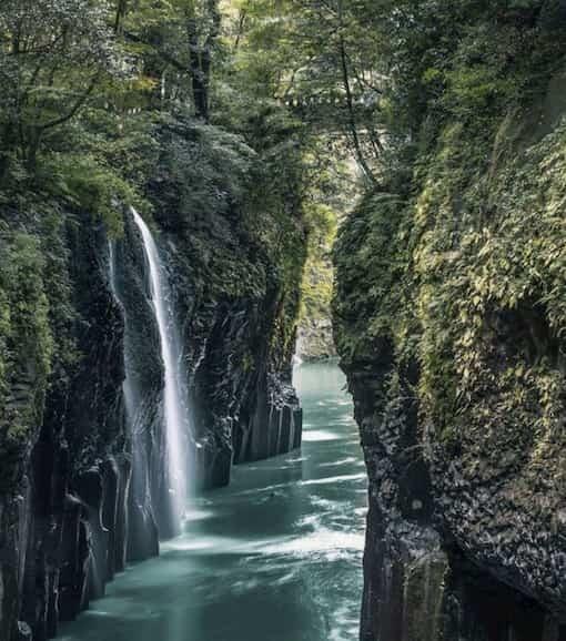 Les Gorges de Takachiho  Japon