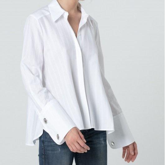 chemise blanche femme par hanasan