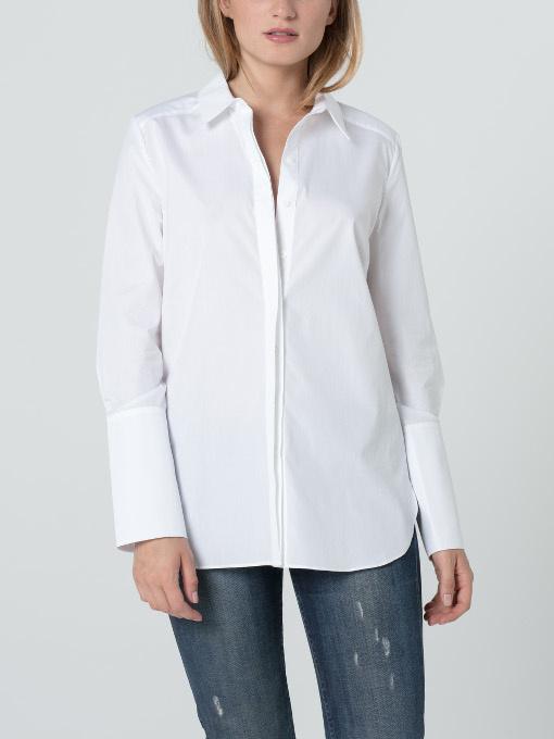 chemise Ema blanche créateur hana san