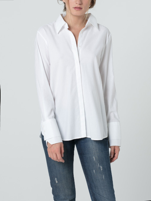 chemise blanche femme kenta par hana san