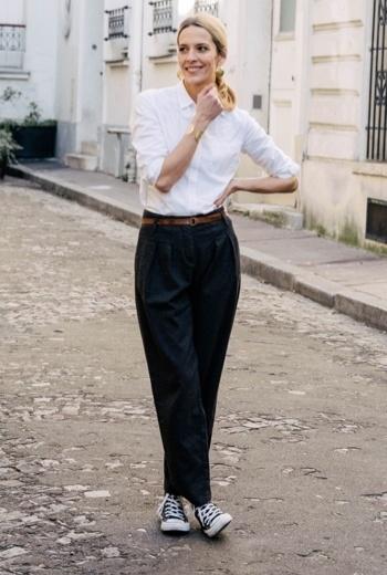 chemise chic look street wear
