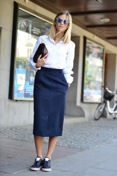 Chemise look working girl