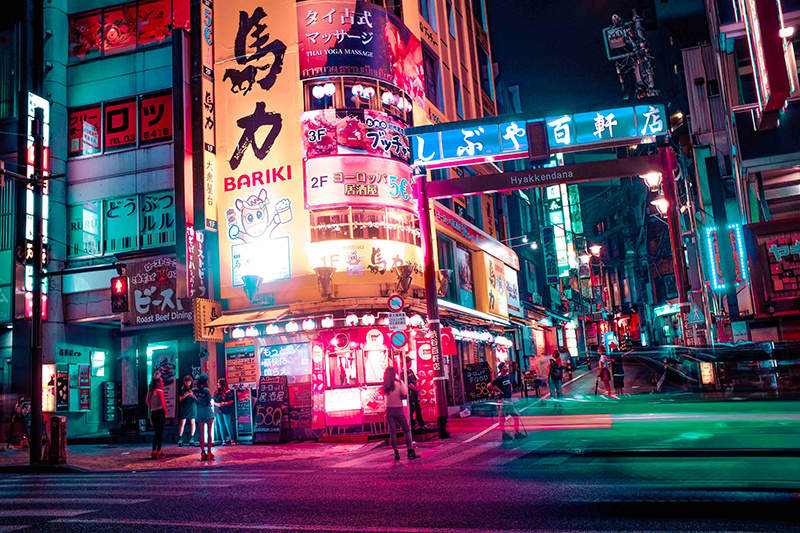 Tokyo moderne chemise inspiration japonaise