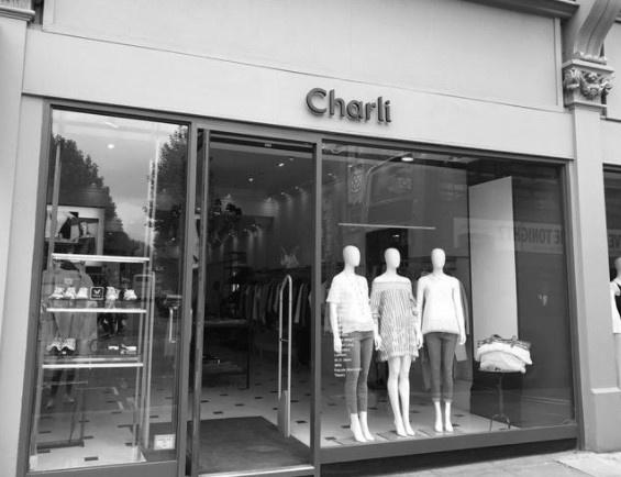 boutique mode créateur Charli londres