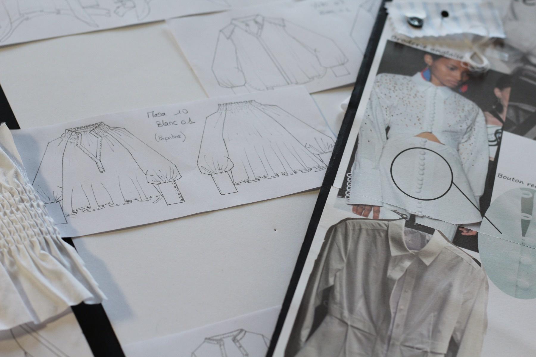 Créateur chemise blanche chic pour femme