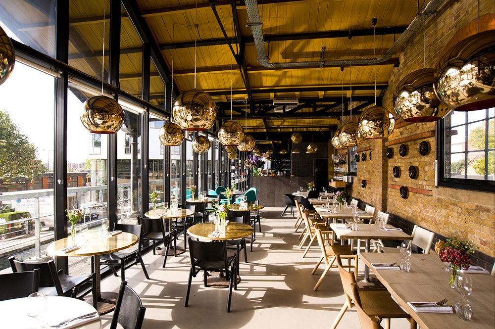the dock kitchen restaurant à la mode londres